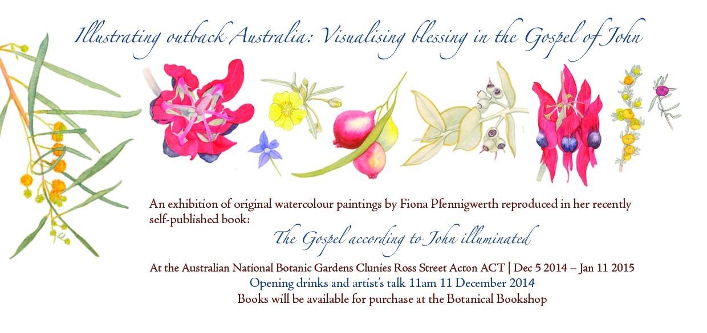 Illustrating outback Australia Canberra Invite